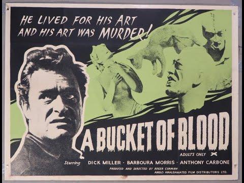 Un cubo de sangre (A Bucket of Blood ) Roger Corman (1959) - Película subtitulada en español