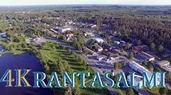 Rantasalmi ilmasta 2019  Finland above 4K drone scenery