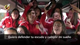La Selección española Sub-17 femenina versiona el