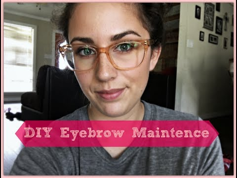 How to Get PERECT Eyebrows at HOME!