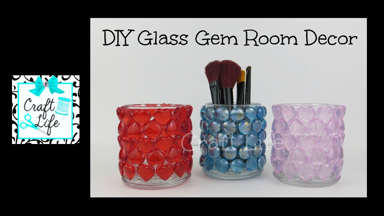 Craft Life Diy Decorative Glass Gem Gifts Room Decor For