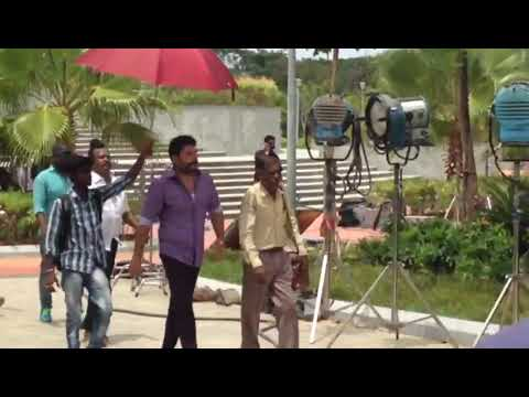 Bhaskar oru Rascal shooting spot video