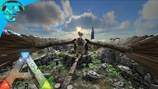 Ragnarok E3 - Griffin Taming and Exploring the Ruins under the Base ! ARK:Survival Evolved PVP
