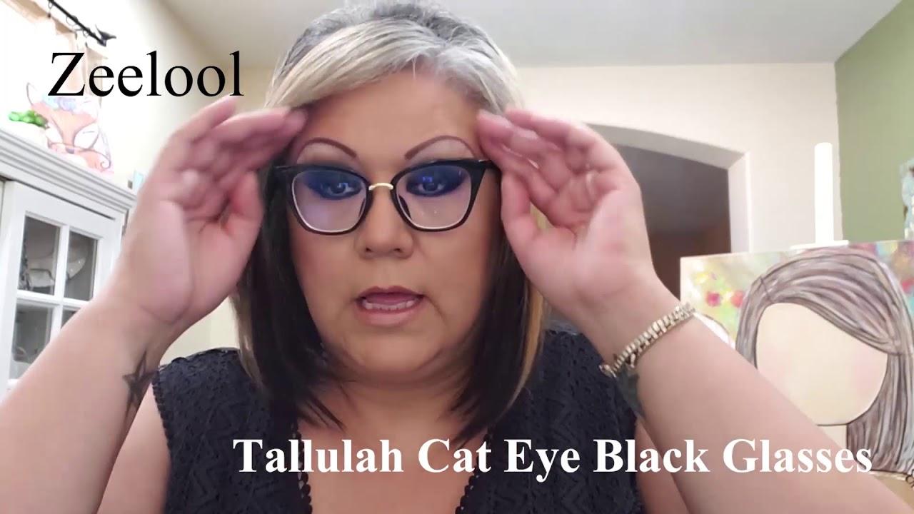 27375e55619 Customer Review   Zeelool Prescription Glasses - YouTube