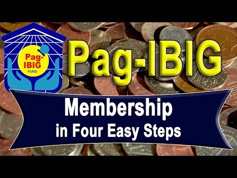 Pag-IBIG Membership In Four Easy Steps | (Update)