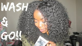 Natural Hair - Wash and Go Ft Miss Jessie