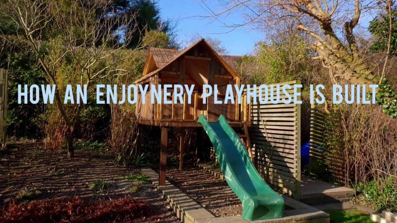 How an Enjoynery Treehouse is Built
