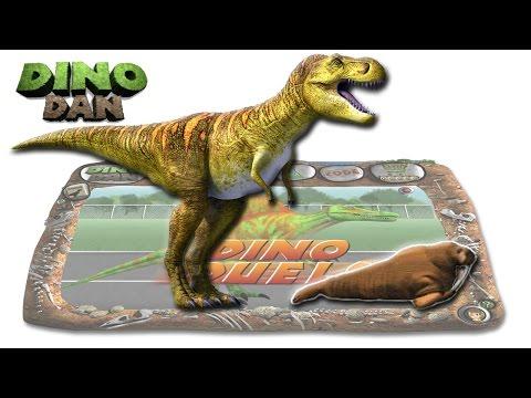 DINO DAN : DINO DUELS # 3 - Tyrannosaurus vs. Walrus