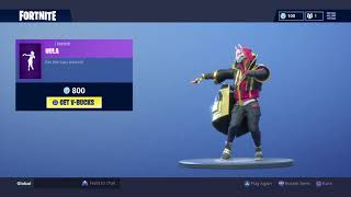 Fortnite Drift stage 4 Glitch Hula Emote