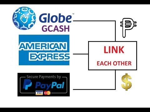 How To Link Paypal American Express & Gcash (TAGALOG VERSION)