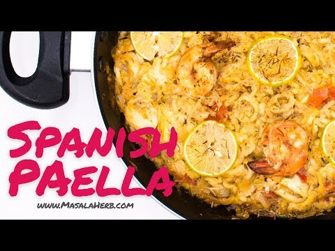 Easy Spanish Paella Recipe With Seafood