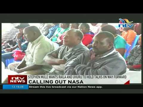 Matungulu MP urges Nasa to oversight Jubilee and stop sideshows