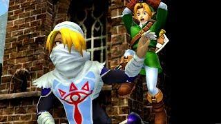 The Legend Of Zelda: Ocarina Of Time 3D Cutscene #1 - Meeting Sheik (Remake)