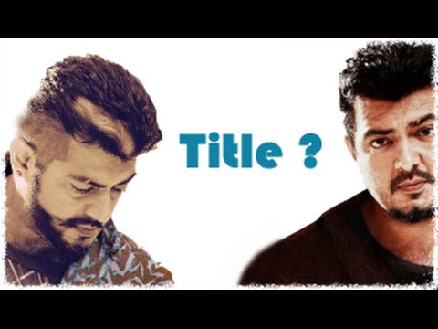 Ajith's upcoming Thala 56 movie Title revealed - YouTube