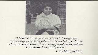 Lata Mangeshkar - You Needed Me