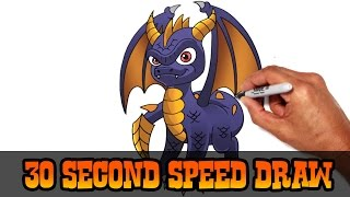 Spyro (Skylanders)- Speed Draw Preview