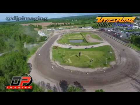 Aerial View of Utica Rome Speedway - ESS Sprints - 5/28/17 - DP Imaging
