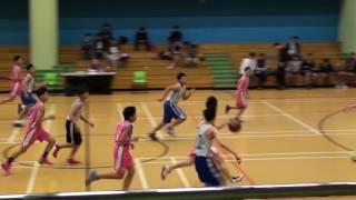2016 中學籃球學界 C Grade 全完中學 VS 葉紀