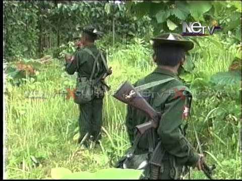 Myanmar army in manipur: