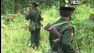 Myanmar army in manipur