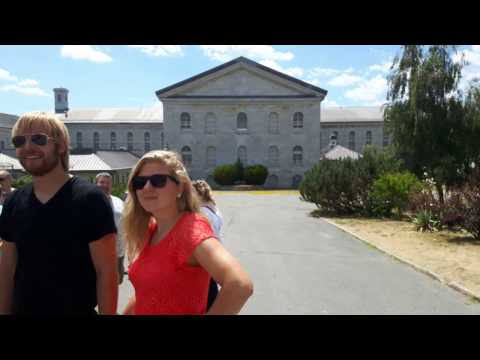 Kingston Penitentiary Tour 2016 Part 1: Conjugal Visits, Warden Mortality's & Command Centre
