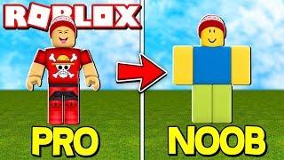 TRANSFORMING ME into the BIGGEST NOOB of ROBLOX → Noob Simulator 🎮