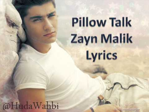 Zayn Malik - Pillow Talk (Lyrics)