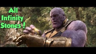 Thanos: Collecting The 6 Infinity Stones (Avengers Infinity War)