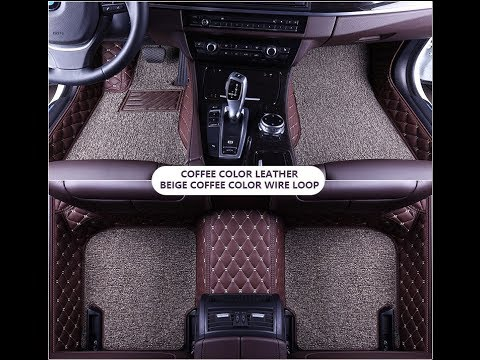 Custom Best Car Floor Mats