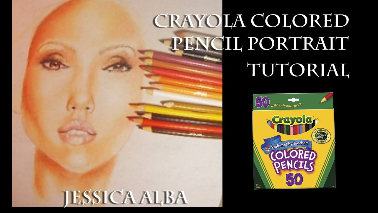Crayola colored Pencil Skin Tutorial narration