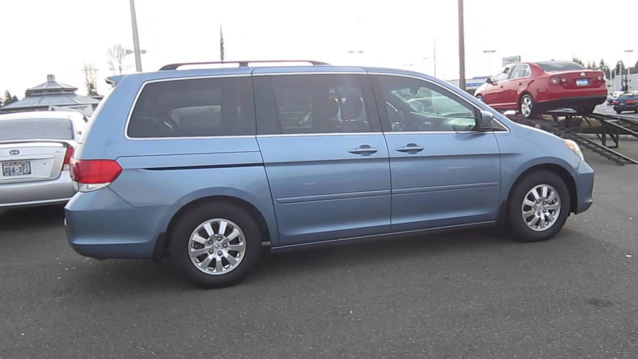Honda Odyssey 2013 >> 2008 Honda Odyssey, Ocean Mist Metallic - STOCK# 12796P - Walk around - YouTube