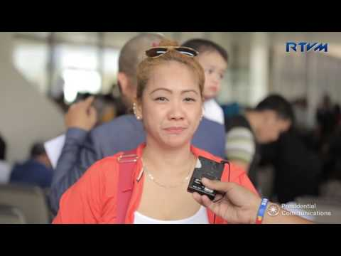 Arrival of the OFWs from Jeddah, KSA (Editor's Cut) 7/20/2017
