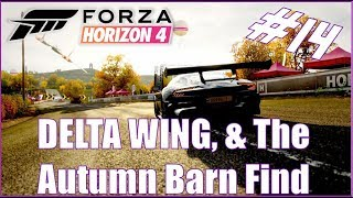 Forza Horizon 4 Delta Wing & the Autumn Barn Find Let
