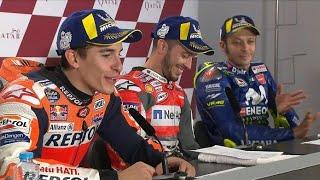 Sindiran Kocak Rossi untuk Marquez saat Konferensi Pers