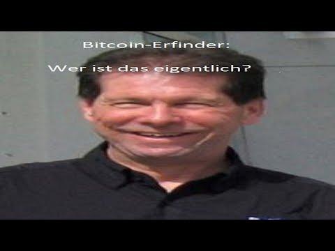 """Wer hat Bitcoins erfunden? Bitcoin Erfinder """"Satoshi Nakamoto"""""""