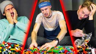 LEGO rakennushaaste ilman ohjeita! TOIMISTOHAASTE