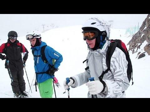 Sciare fuori pista s�, ma in sicurezza: euronews a lezione a les deux alpes