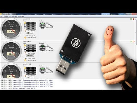 [EASY] How To Mine Bitcoin Using ASIC USB Block Erupters And BitMinter