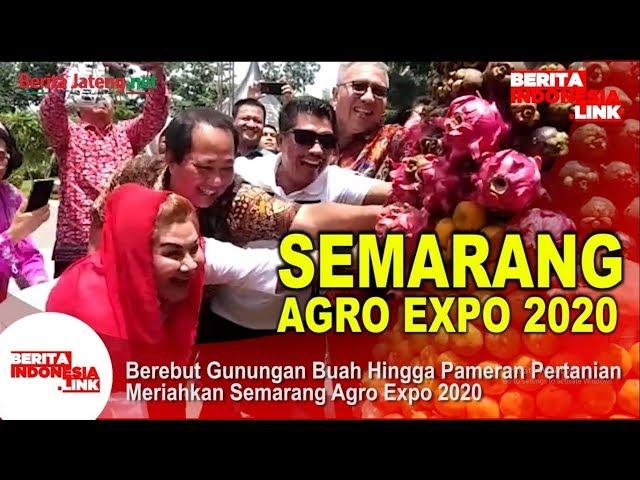 Semarang Agro Expo 2020, Berebut Gunungan Buah Hingga Pameran Pertanian