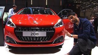 Peugeot 208 restyling | Salone di Ginevra 2015
