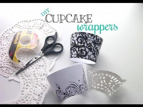 DIY Cupcake Wrappers & Update