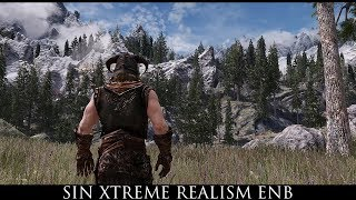 Skyrim SE Mods Sin Xtreme Realism ENB