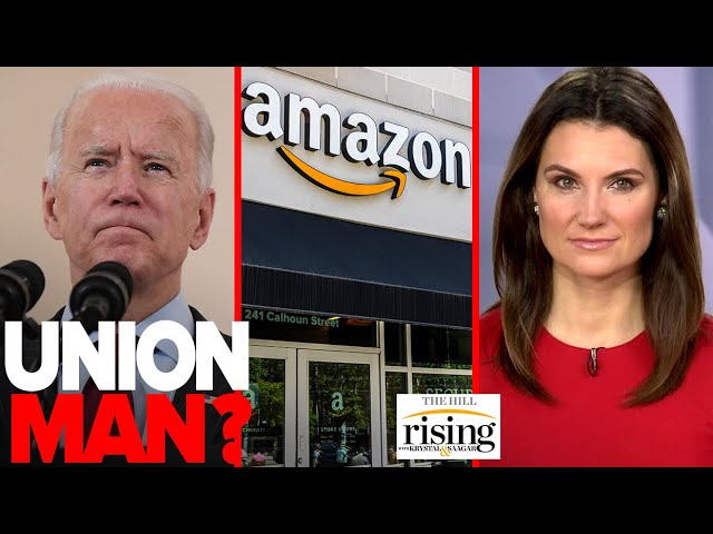 How Strongly Does Joe Biden Want to See Amazon Unionized? Will He Act, or Just Speak Pretty Words?