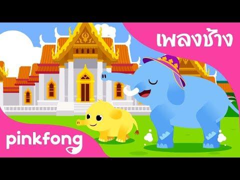 Chang Chang Chang | Animal Songs | เพลงช้าง | เพลงอนุบาลภาษาไทย | เพลง Pinkfong สำหรับเด็ก