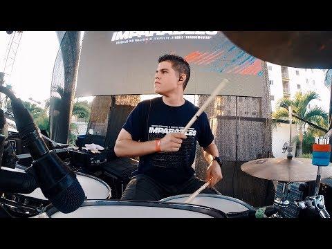 No Hay Vuelta Atras - Israel \u0026 New Breed (Drum Cam Cover) Héctor García
