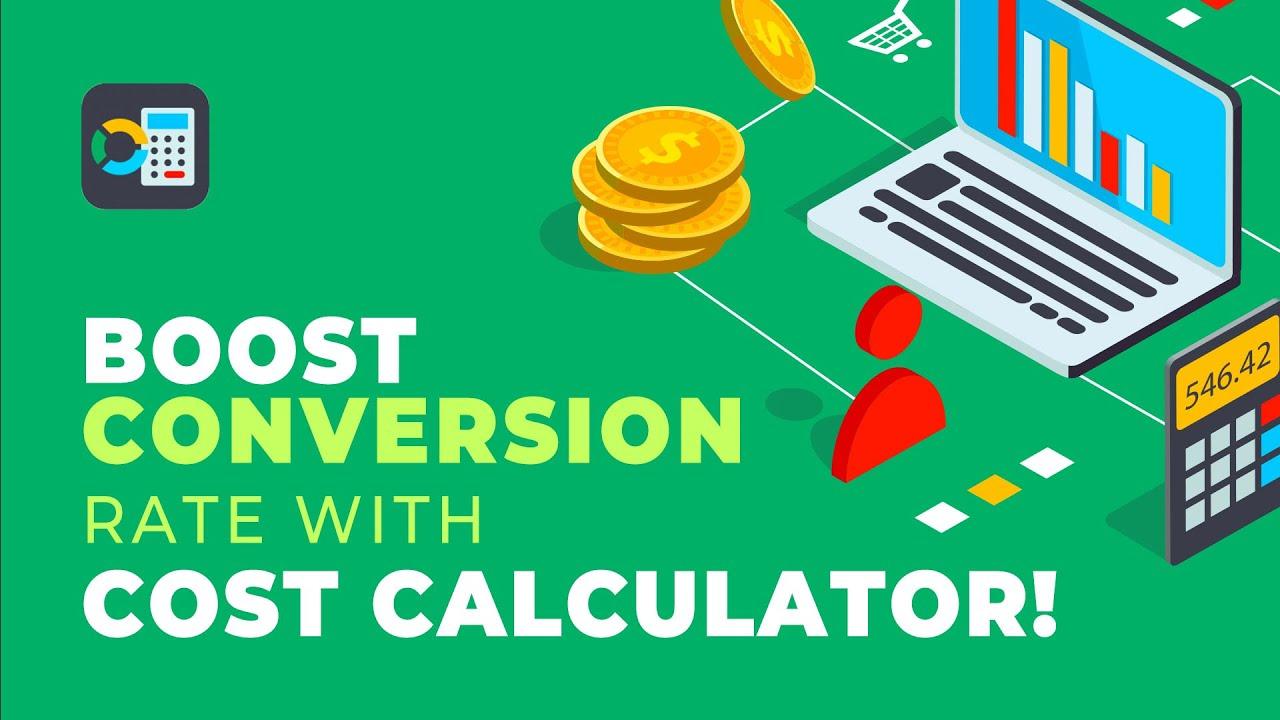 Cost Calculator Builder – WordPress plugin   WordPress.org