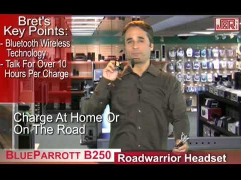 BlueParrott B250 Roadwarrior Noise Canceling Bluetooth Headset - JR.com