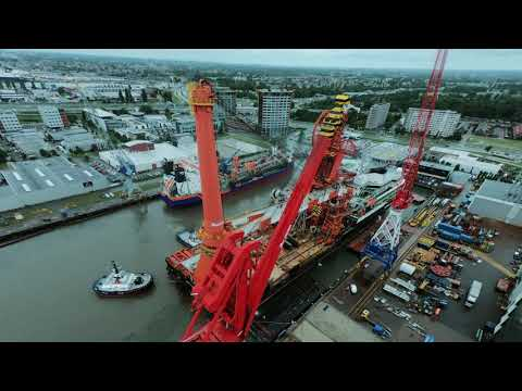 Upgrade of the 3,000mt Offshore Mast Crane of Pipe-Lay Vessel Saipem Constellation