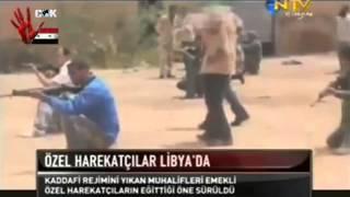 Türk Özel Harekatçıları Libya'da Muhaliflere Silahlı Eğitim Verdi