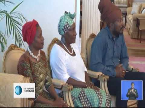 AFRICAN HERITAGE GROUP COURTESY CALL TO GOVERNOR GENERAL